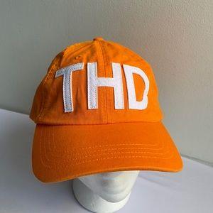 The Home Depot Adjustable Orange Hat NWOT